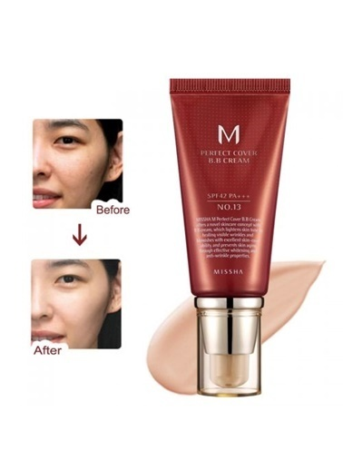 Missha M Perfect Cover Bb Cream No: 13 Bej